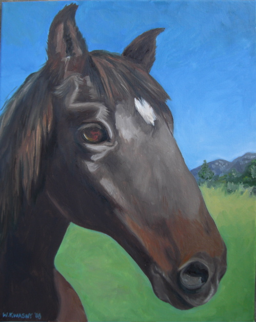 portrait-of-a-horse