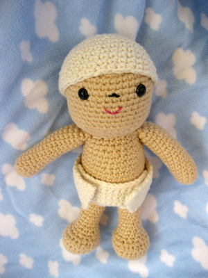 Crocheted baby
